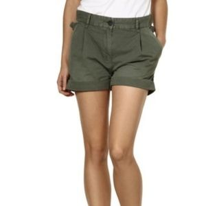 Pants - Diesel s-hopal military green shorts 26 S